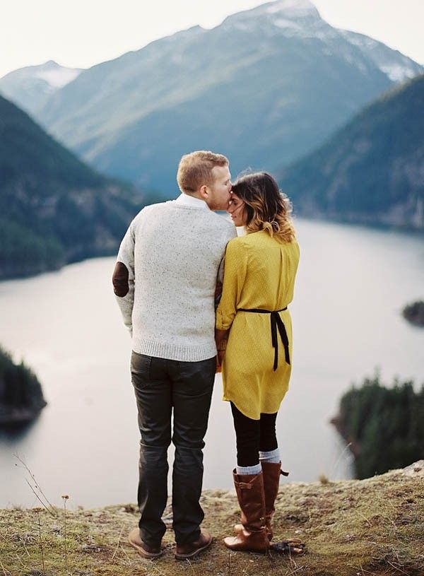 Pacific Northwest Couple Portraits by Ryan Flynn Photography