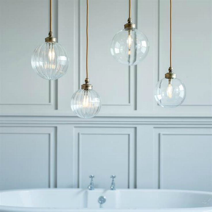 Wouldn't these be just dreamy in the bathroom? Regular readers (or those who joined more than a few weeks ago) will remember I ran a series on How to Get the Lighting Right which focused on each room in the house. When it came to the bathroom the rules were complicated. Mainly because of the…