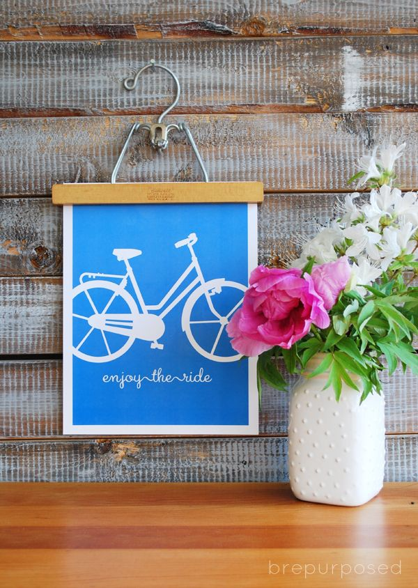 FREE Bicycle Print