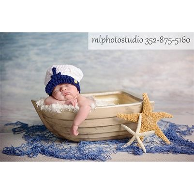 Newborn Photography Boat Prop