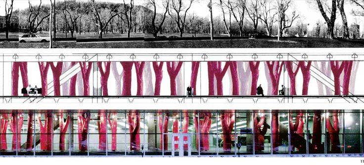 Claude Cormier - Architecture de paysage + Design urbain - LIPSTICK FOREST (NATURE LÉGÈRE)