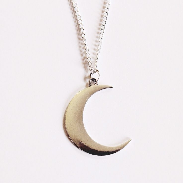 Midnight - Crescent Moon Necklace – Druzy Dreams