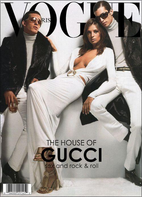Maximiliano Patane and Daria Werbowy VOGUE Paris May 2004 Magazine Cover
