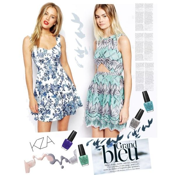Feeling Blue??? Dont! Blue dresses for summer? Yes! Check out my polyvore for more ideas!