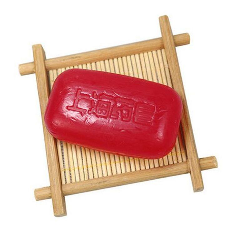 New! Medical Soap Red China, eliminates acne psoriasis seborrhea eczema fungus #Unbranded
