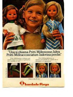 1974 Pubblicità Advertising Pritti Millemosse