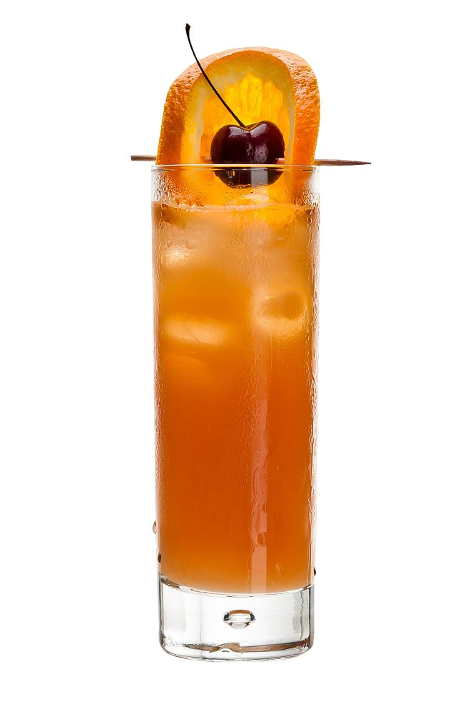 SEX ON THE BEACH : INGREDIENTS -   2 measures Vodka  1/2 measures Raspberry liqueur  1/2 measures Butterscotch Scnapps  1 1/2 measures Freshly squeezed orange juice  1 1/2 measures Cranberry juice  Garnish    Orange slice and cherry (sail)  INSTRUCTIONS - 1 Serve drink with all ingredients shaken with ice. 2 Strain into a glass of ice. HOW TO SERVE IT -   Serve in a Collins glass  Garnish with an orange slice and cherry