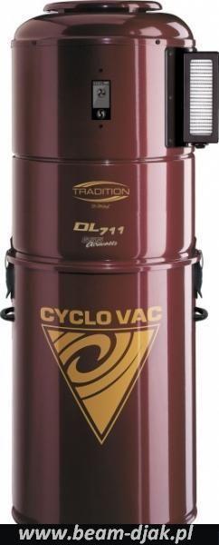 Odkurzacz Centralny CYCLOVAC DL 711.