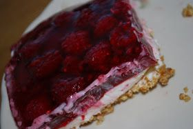 Our Family Treat: Raspberry Pretzel Jello