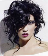 Wild Hairstyles - Wild Hairstyles Techniques - Messy Hairstyles - Gothic Hairstyles - Wavy Hairstyles