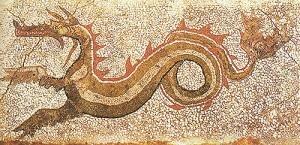 Lo straordinario mosaico scoperto ieri in Calabria: raffigura il Drago di Kaulon http://www.strettoweb.com/2012/09/tutti-i-dettagli-sullo-straordinario-mosaico-scoperto-ieri-in-calabria-raffigura-il-drago-di-kaulon/49740/