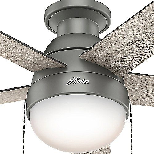 433 best casablanca and hunter fans images on pinterest ceiling anslee flushmount ceiling fan aloadofball Images
