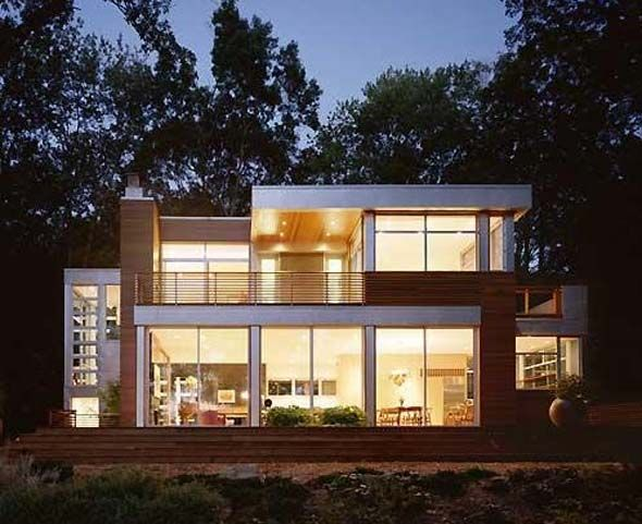 25 best ideas about modern lake house on pinterest house styles modern coast and homes - Lakefront home designs ...