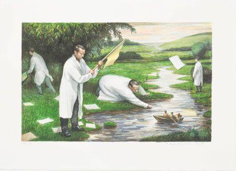 Wetland - Peter Martensen original prints for sale