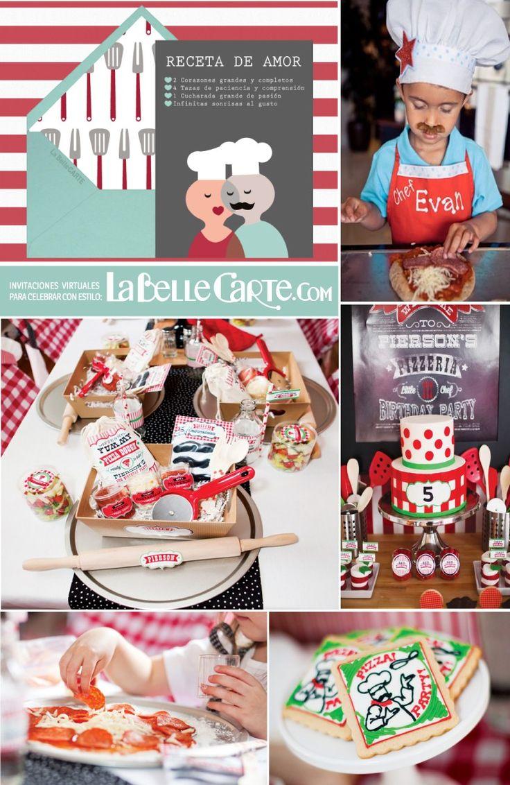 Invitaciones infantiles invitaciones para fiestas for Cocina para fiestas