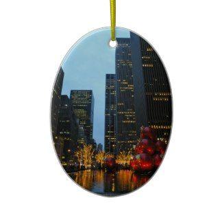 Christmas Time NYC Christmas Tree Ornaments