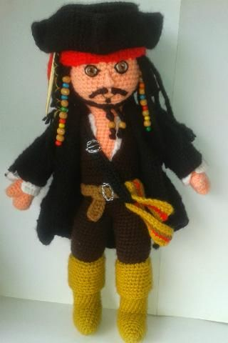 Captain Jack Sparrow ('Pirates of the Caribbean')