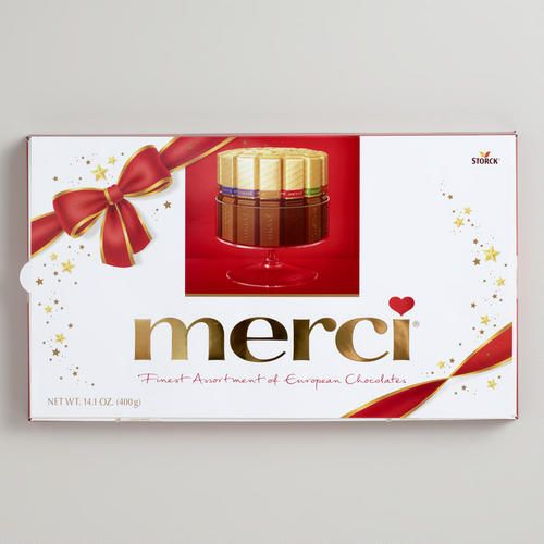 One of my favorite discoveries at WorldMarket.com: Merci Chocolates