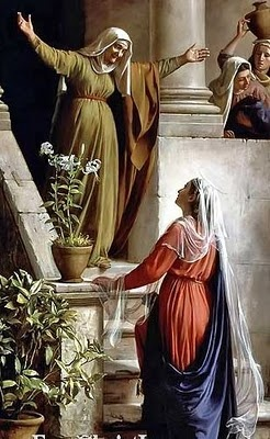The Visitation:  Mother Mary, grant us the gift of Charity