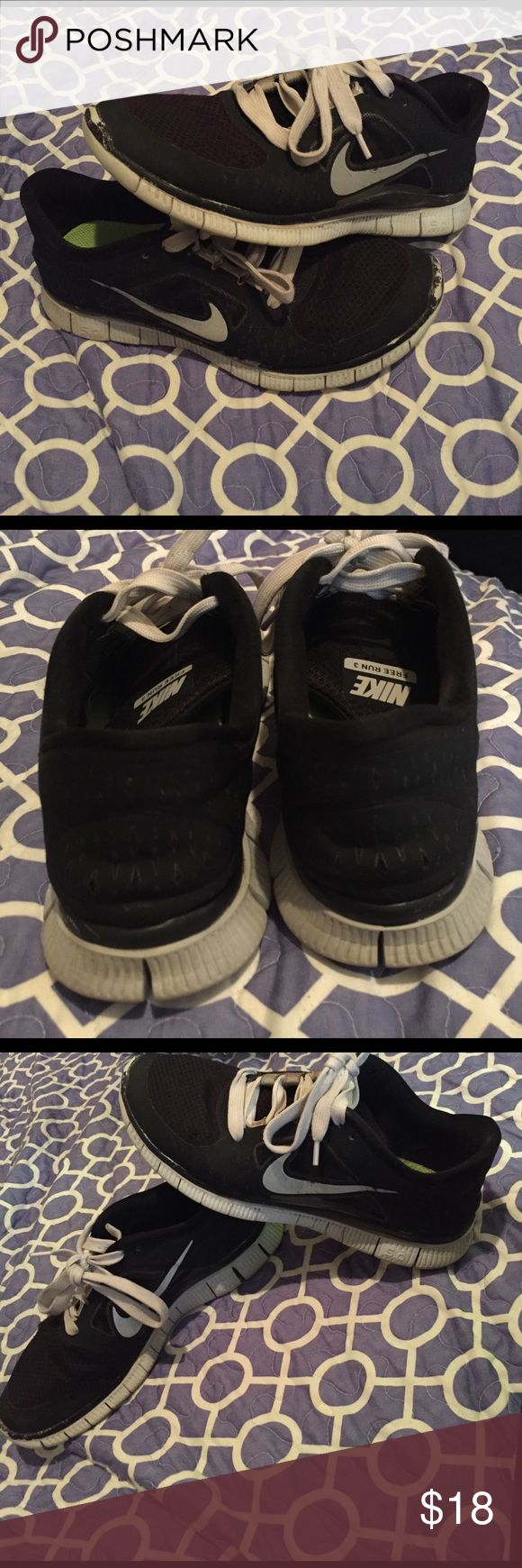 Nike Free Run 3 well loved Nike Free Run 3 lots of love left great running shoes feel free to make an offer Nike Shoes Athletic Shoes
