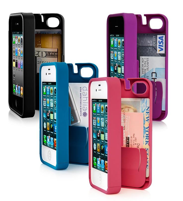 One of the best iPhone cases on the market, this All-in-One Wallet/iPhone Case will keep his iPhone 4, 4S or 5 safe and protected, at the same time that it provides a convenient place to stash his credit cards, cash, ID and other necessities all in one place. A practical, functional gift, perfect for any guy. #Christmas #present #husband