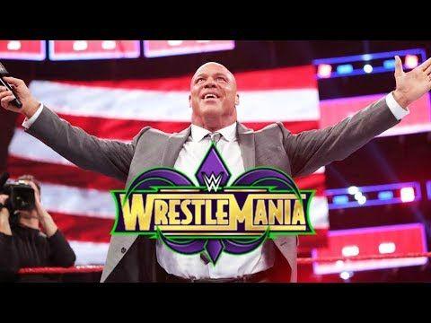 Why Kurt Angle Should Face Triple H At WrestleMania 34