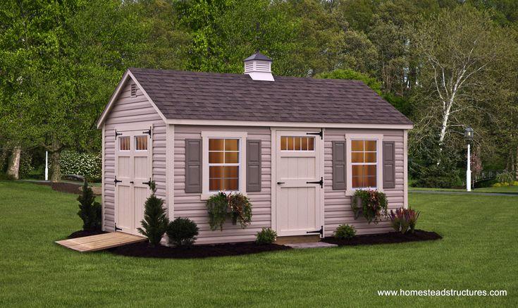 Custom Storage Sheds for Sale, Garden Sheds, Amish Sheds | Homestead Structures