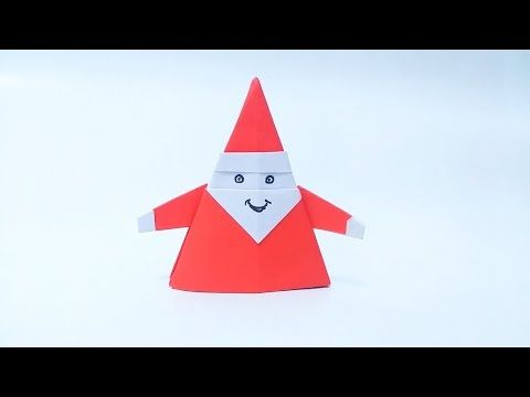 How to make: Origami Santa Claus