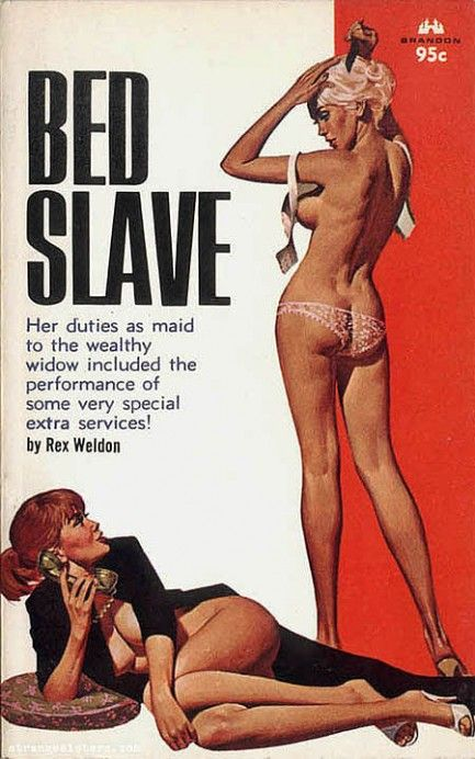 Pulp International - Eight vintage Brandon House covers from Fred Fixler #pulp