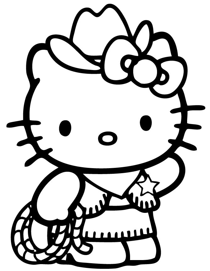 215 best hello kitty images on pinterest | drawings, coloring ... - Kitty Doctor Coloring Pages