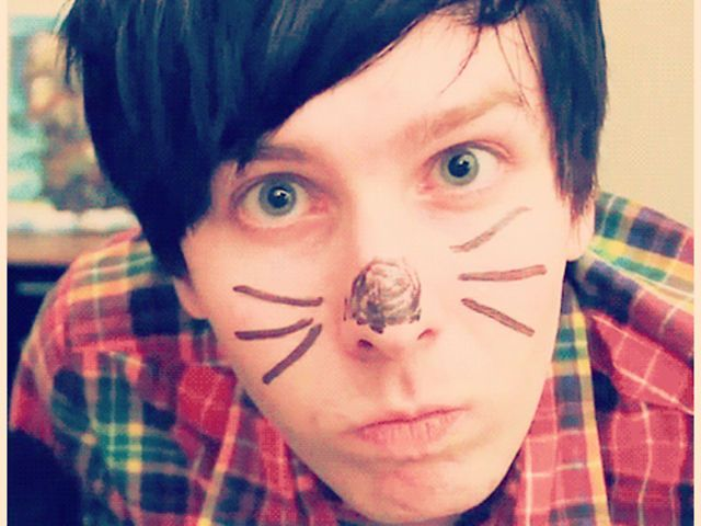 I'm more like Phil! I'm a little bit of both I think