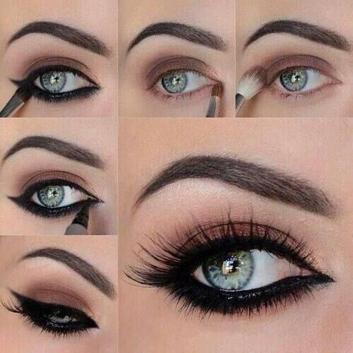 defined eyes, eyeliner