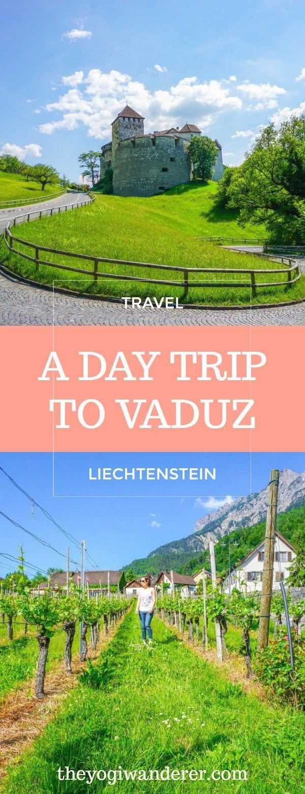 A day trip to Vaduz, Liechtenstein #Travel #Europe