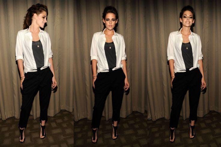 Kristen Stewart Actually Smiled Last Night - The Cut