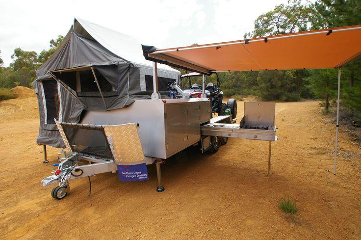 Hard Floor Toy Hauler camper trailer toyhauleraustralia, toyhaulersydney, toyhaulermelbourne, toyhaulerperth ATV, UTV, Sidebyside