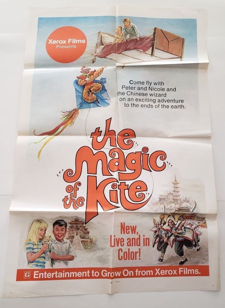 The Magic of the Kite 1974 Original Movie Poster One Sheet