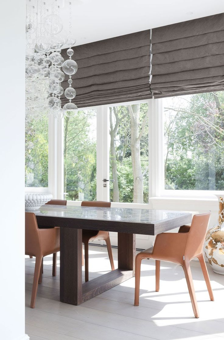 Modern 36 quot 40 quot blinds shades allmodern - Manor By The River Is A Private Residence Designed By Remy Meijers