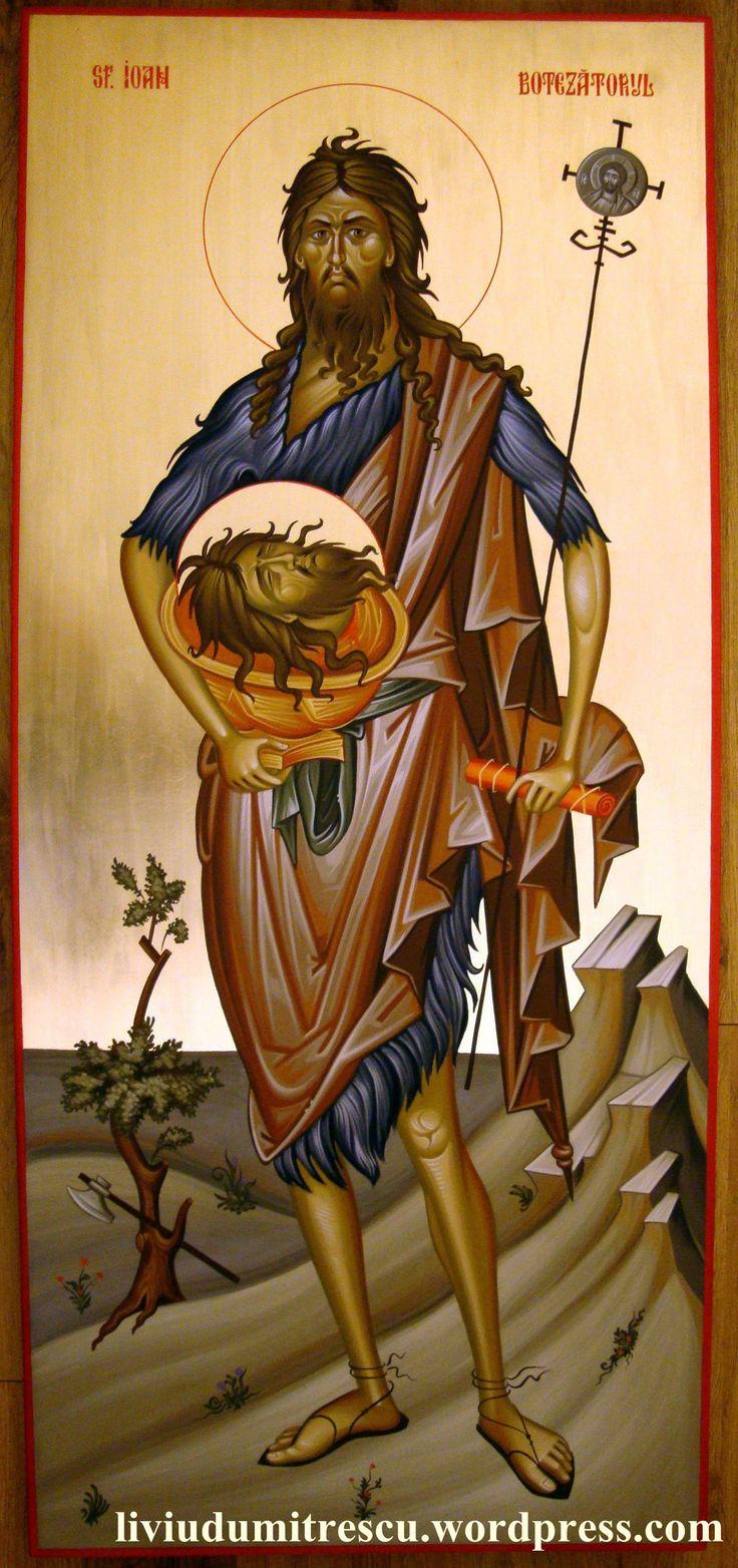 Ο Αγ. Ιωαννης ο Προδρομος - St Jhon the Baptist.  07 Jan