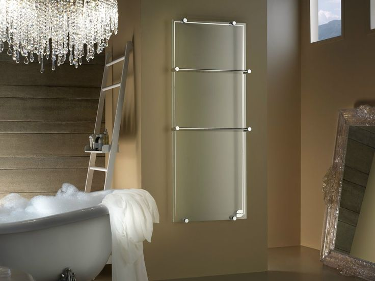 VERTICAL WALL-MOUNTED GLASS RADIATOR THERMOGLANCE ® COLLECTION BY ASOLA VETRO