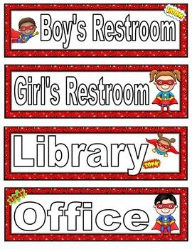 This product consists of eight different super hero themed hall passes.This product is two pages long and comes in a PDF file. All graphics and text have been flattened (text is not editable). Simply print, cut, laminate and use.