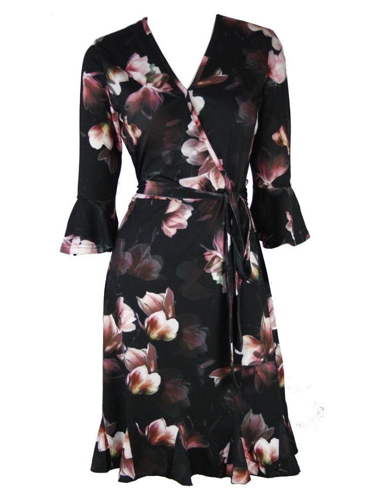 Orouke Magnolia Bloom Dress - Dressxox
