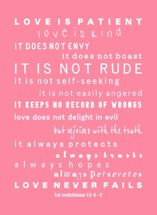 67 best love is patient,love is kind images on Pinterest | Tattoo ...