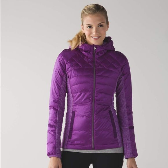 ‼️LAST DAYS‼️ Lululemon jacket -NWT-size 4 Lululemon Down for a Run Jacket -NWT- size 4.   Made with 800-fill-power goose down. Glyde fabric is wind and water-resistant. Soft, sweat-wicking Rulu fabric side panels have added LYCRA fibre so you can move freely. Amazing jacket! Completely SOLD OUT in stores and online. **Excluded from bundle discount** lululemon athletica Jackets & Coats