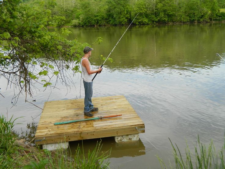 17 best images about floating docks on pinterest lakes for Small pond dock plans