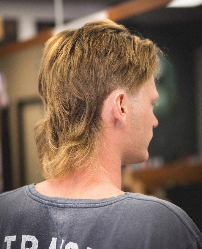 Mullet Haircuts Party In The Back Business In The Front Mullet Haircut Mullet Hairstyle Haircuts For Men