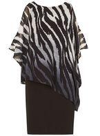 Womens *Izabel London Multicoloured Overlay Bodycon Dress- Multi Colour