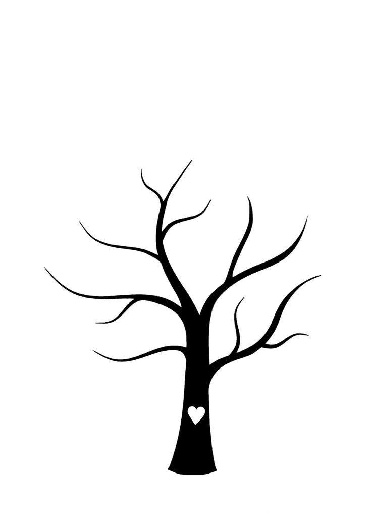 Malvorlagen Baum Ohne Blätter Baum vorlage