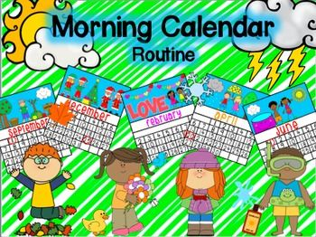 Here is everything you need to implement a Morning Circle Time Routine. Lot's of visuals and instructions on how to implement in your room. I use this in my K-2nd Autism room and modify it up and down as the needs of my students change.This pack includes the following skills/activities:-saying hello-name id-feeling id-id present vs.