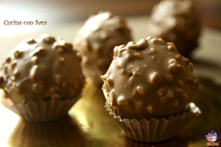 Ferrero rocher: come farli in casa. Su internet si trovano tantissime ricette per preparare i ferrero rocher in casa- Mi sono imbattuta in quella di GnamGnam.