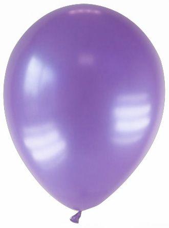 12 Ballons métallisés violets 28 cm : 12 ballons violets métallisés de 28 cm de diamètre. Ces ballons sont en caoutchouc naturel et complétement biodégradables.